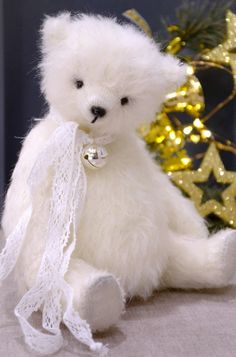 Nike by Irina Donskaya. Exceptional handmade. Bear, giving peace and joy. Can become a true friend to you and your family. This is my last work of the outgoing year 2017.   eBay!