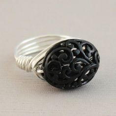 black forest ring by susans jewelery designs at Etsy