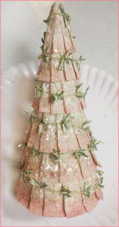 gorgeous paper tree instructions would look gorgeous in a putz house find this pin and more on adult program ideas