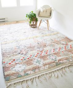 Vintage moroccan rug, colorful moroccan rug, vintage rug, best sources for vintage rugs online, wh. Moroccan Rug, Home, Rugs On Carpet, Moroccan Rug Living Room, Living Room Carpet, Colorful Moroccan Rugs, Moroccan Carpets, Vintage Moroccan, Vintage Moroccan Rugs