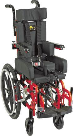 Kanga TS Pediatric Folding Tilt-In-Space Wheelchair : Pediatric Wheelchairs