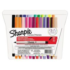 Sharpie® Ultra Fine Point Permanent Markers - Assorted (24 Per Set)
