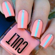 nice 45+ Cute Nail Art Ideas for Short Nails 2016 - Get On My Nail - Pepino Nail Art Design - Pepino Top Nail Art Design