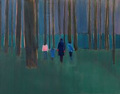 TOM HAMMICK (b British artist Tom Hammick has described landscape in his work as a metaphor to explore an. Galleries In London, A Level Art, High Art, Art Fair, Fine Art Gallery, Figure Painting, Contemporary Paintings, Artist At Work, Modern Art