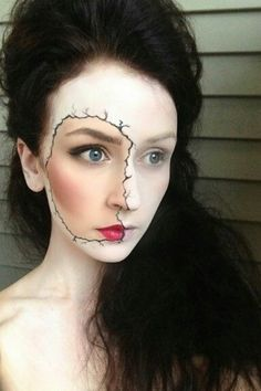 Face paint, this is so cool