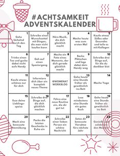 Mindfulness Advent Calendar - 24 days for more self-care in the pre . Achtsamkeit-Adventskalender – 24 Tage für mehr Selbstfürsorge in der Vorweih… Mindfulness Advent Calendar – 24 days for more self-care in the run up to Christmas – Women at Work Diy Gifts For Christmas, Pre Christmas, Before Christmas, Xmas, Christmas Decor, Christmas Ornaments, Holiday Decor, Advent Calenders, Diy Advent Calendar