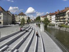 Atelje VOZLIČ, Redesign of Breg Embankment, Ljubljana