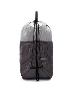 Shop for adidas by Stella McCartney Run Packable Backpack in Silver    Granite at REVOLVE. 342519a296c19