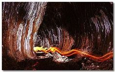 Barker's Cave and its Lava Floor - Cave Tours at Undara Experience #ecotourism #Queensland #Australia