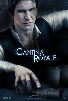 """Star Wars/Casino Royale mash-up """"Cantina Royale"""" (via)"""