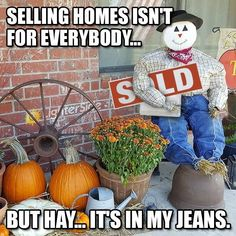We make the best real estate memes and articles for agents to share with their clients, friends and peers. Real Estate Career, Real Estate Office, Real Estate Business, Selling Real Estate, Real Estate Marketing, Real Estate Quotes, Real Estate Humor, Realtor Memes, Fall Humor