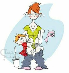 Parenting illustrations by Nathalie Jomard, so true.. Only mommies understand :)