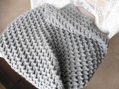 Crochet Blanket Patterns, Baby Blanket Crochet, Crochet Stitches, Crochet Baby, Knit Crochet, Crochet Edgings, Crochet Blankets, Blanket Yarn, Crochet Projects