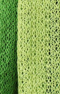 Rich shades of green color this #scarf with bold elegance.