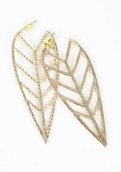 Falling Leaves Earrings $14