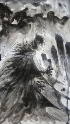 Batman by Ben Templesmith.