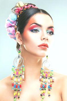 Beauty of flamenco on Behance Candy Costume en 2019 Skin Makeup, Beauty Makeup, Candy Costumes, Glass Skin, Professional Makeup Artist, Makeup Forever, Makeup Trends, Korean Beauty, Behance