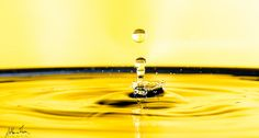 sfere in giallo - acqua in salita