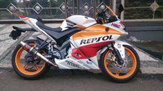 Yamaha Vixion NVL Modif R125 Repsol