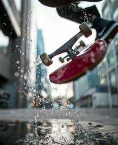 🛹 Skateboard 📱 Fond d'écran cellulaire no 13 Art Patin, Creative Photography, Street Photography, David Wallace, Cool Pictures, Cool Photos, Beautiful Pictures, Skate Photos, Skate Art