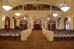 My Wedding Ceremony- The Crystal Ballroom- Rice Hotel- Houston, TX