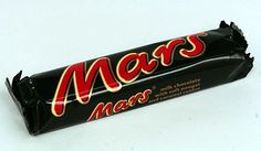Mars bars.  Can't find them around here.