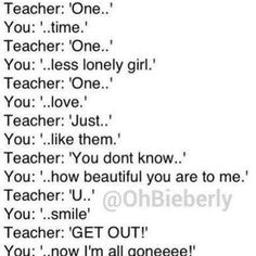 haha lol!!:):):) knowing me I would probably do this to a teacher or somebody