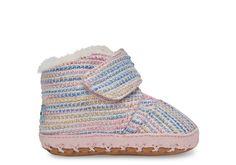 4ee283da4bb Pink Metallic Pink Metallic Woven Tiny TOMS Cuna Crib Shoes Tiny Toms