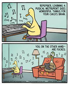 Kids Learning Music | Fowl Language Comics