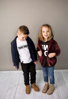 Little Kids' Chukka Shoe and graphic t-shirts