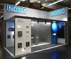 Referenzen | INOTEC Sicherheitstechnik GmbH - BORGMANN Exhibition Stall, Exhibition Stand Design, Exhibition Display, Pop Design, Display Design, Display Wall, Expo Stand, Showcase Design, Retail Design