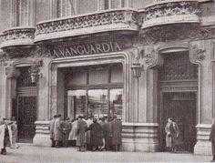 Antic edifi La Vanguadia al carrer Pelai, Barcelona