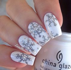 Gorgeous Fall And Winter Nail Designs!! & How To Make A Snowflake Design! ❄️ #Beauty #Trusper #Tip