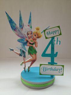 Periwinkle & Tinkerbell Custom Birthday by SplendidCelebration, $18.95