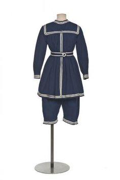 French Gymnastics Suit 1910
