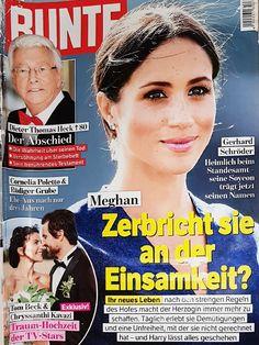 2019: Meghan von Grossbritannien Dieter Thomas Heck, Royals Today, Movie Posters, Movies, Loneliness, Marriage, Films, Film Poster, Cinema