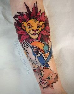 4d7358d3d9b3a 21 Best Simba Tattoo images in 2018 | Tattoo ideas, Disney tattoos ...