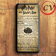 Harry Potter Quotes iPhone 5C Case