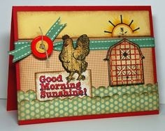 using {ippity} stamps by unity stamp company - farm fresh kit