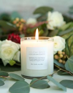 holiday-spice..Prosperity Candle is based out of Massachusetts where women artisans, refugees from Burma, hand make all of their products.