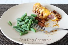 Chili Dog Casserole by lovebakesgoodcakes, via Flickr