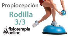 En este vídeo se muestran una serie de ejercicios de propiocepcion para reforzar y estabilizar la rodilla en la recuperacion o rehabilitacion de lesiones de ...