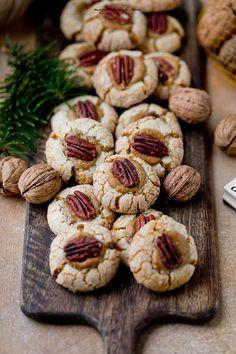 Ciastka mocno orzechowe | Moje Wypieki Bon Appetit, Sweet Tooth, Cooking Recipes, Tasty, Sweets, Cookies, Baking, Cake, Desserts
