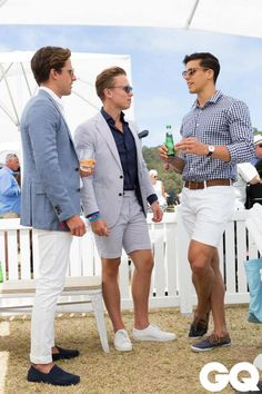 The Best Street Style From The Portsea Polo 2016 GQ is part of Preppy mens fashion - Polo Fashion, Preppy Mens Fashion, Fashion Shirts, Preppy Style Men, Gq Style, Fashion Outfits, Fashion Tips, Polo Shirt Outfits, Polo Outfit