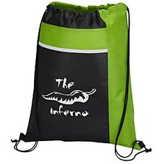 This quick-ship sportpack ensures BIG advertising – 24 Hour Service, Drawstring Backpack, Gym Bag, Advertising, Ship, Pocket, Bags, Stuff To Buy, Store