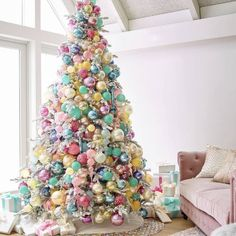 Here are 100 best Christmas Trees ideas. These Christmas Trees decor ideas & inspirations will help you in your Christmas decorations & Christmas tree decor Pink Christmas Tree Decorations, Christmas Tree Images, Beautiful Christmas Trees, Colorful Christmas Tree, Noel Christmas, Disney Christmas, Xmas Tree, Christmas Themes, Bohemian Christmas