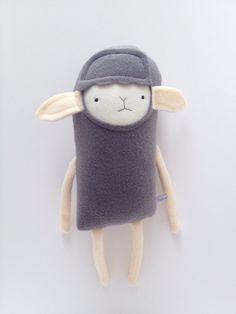 Plush Lamb Friend- Finkelstein's Center Handmade Creature Toy