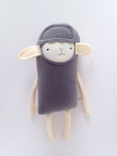 lamb friend- finkelstein's center handmade creature