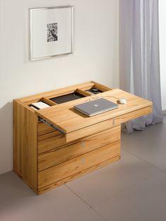Cubus modern beech desk modern desks
