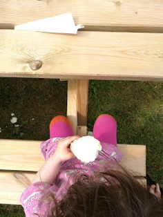 How to sit your child on a bench - and have them not fall down ; Falling Down, Fur Slides, Tips, Bench, Children, Inspiration, Young Children, Biblical Inspiration, Boys